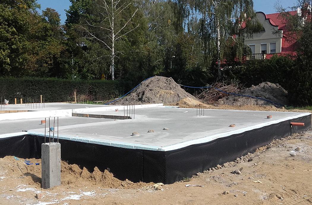Строительство двухэтажного дома, площадью 250 м2, заливка плиты