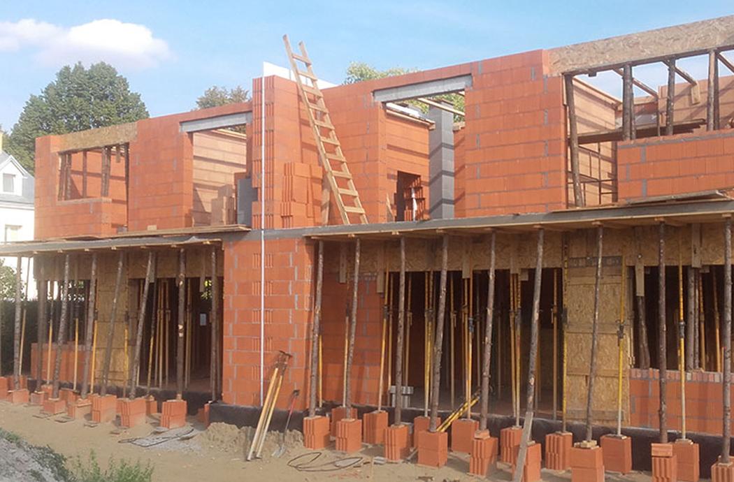 Строительство двухэтажного дома, площадью 250 м2, 2-й этаж