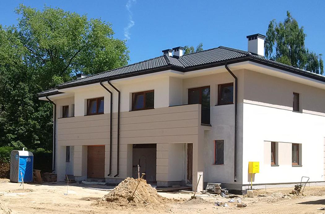 Строительство двухэтажного дома, площадью 250 м2, завершающие работы