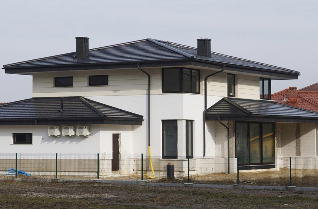 Строительство одноэтажного дома, площадью 278 м2, общий план