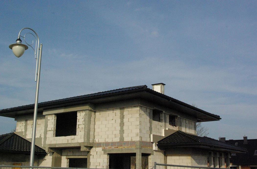 Строительство одноэтажного дома, площадью 278 м2, общий план мансардного этажа