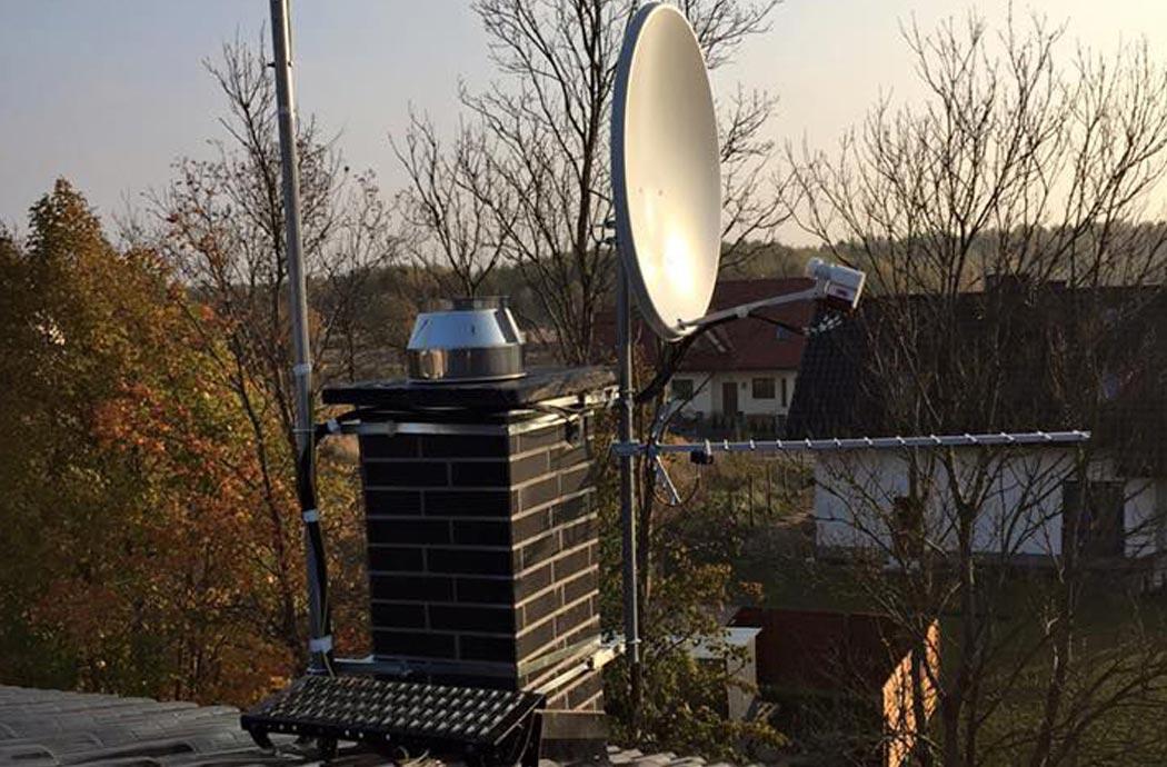 Дизайн одноэтажного дома 278м2, спутниковая тарелка