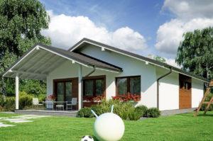 Проект одноэтажного дома 104 м2 К-110478