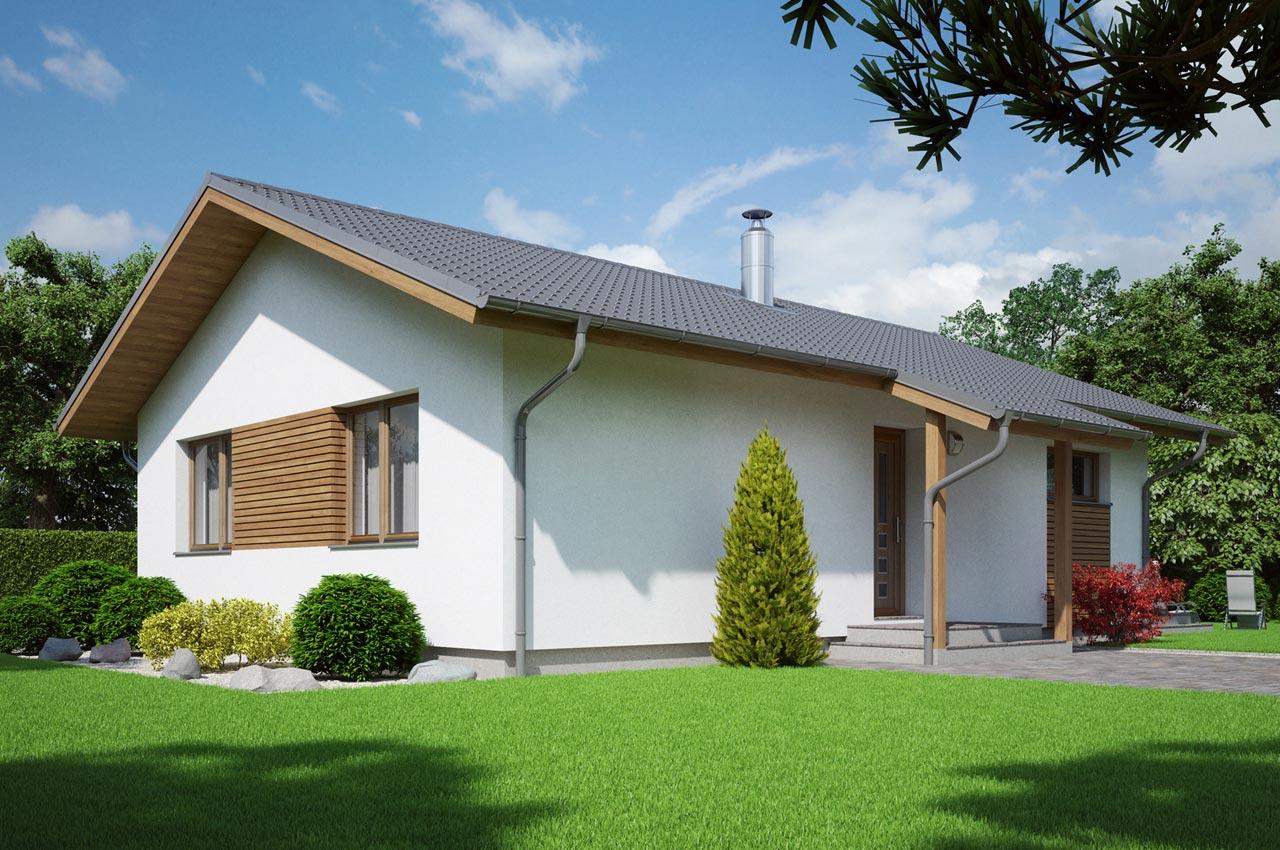 Проект 1 этажного дома 85 м2 К-185637