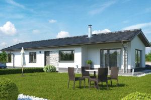 Проект одноэтажного дома 102 м2 К-1102765
