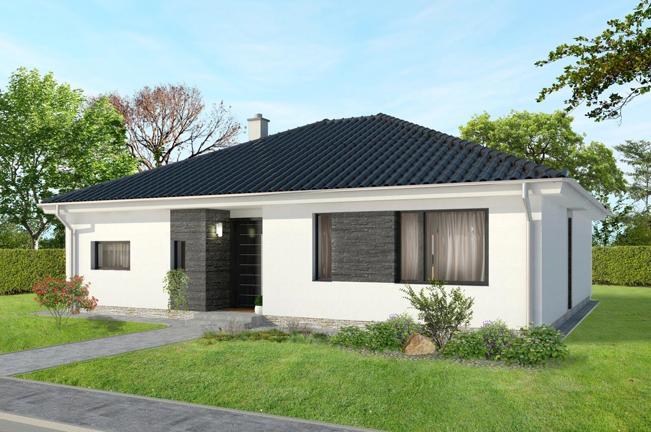Проект одноэтажного дома 108 м2 К110881