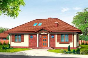 Типовой проект одноэтажного дома площадью 133м2