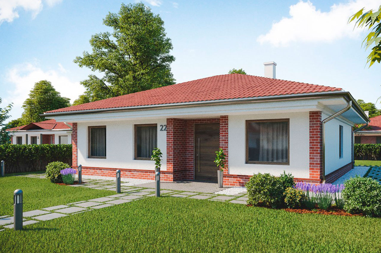 Проект одноэтажного дома 120 м2 К111209