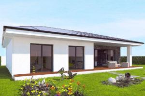Проект одноэтажного дома 120 м2 К11209