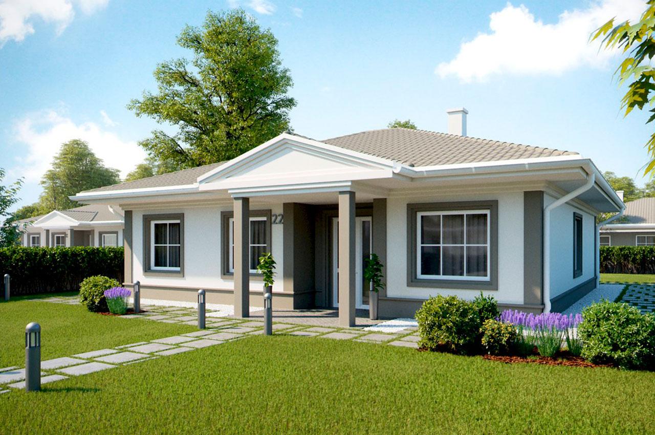 Проект одноэтажного дома 120 м2 К112090