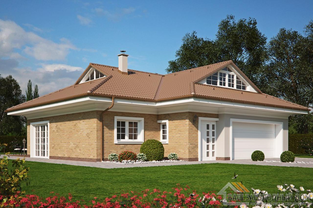 Проект одноэтажного дома 222 м2 K222665