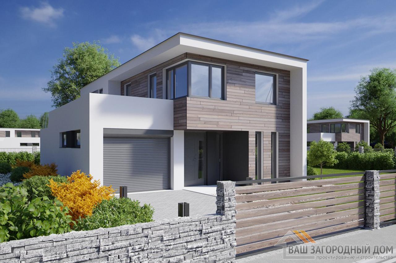Проект двухэтажного дома 149 м2 К149117