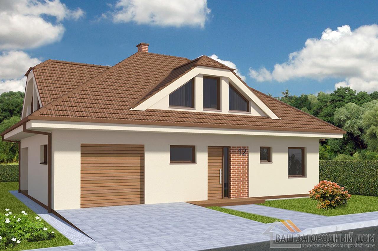Проект двухэтажного дома 175 м2 К175312