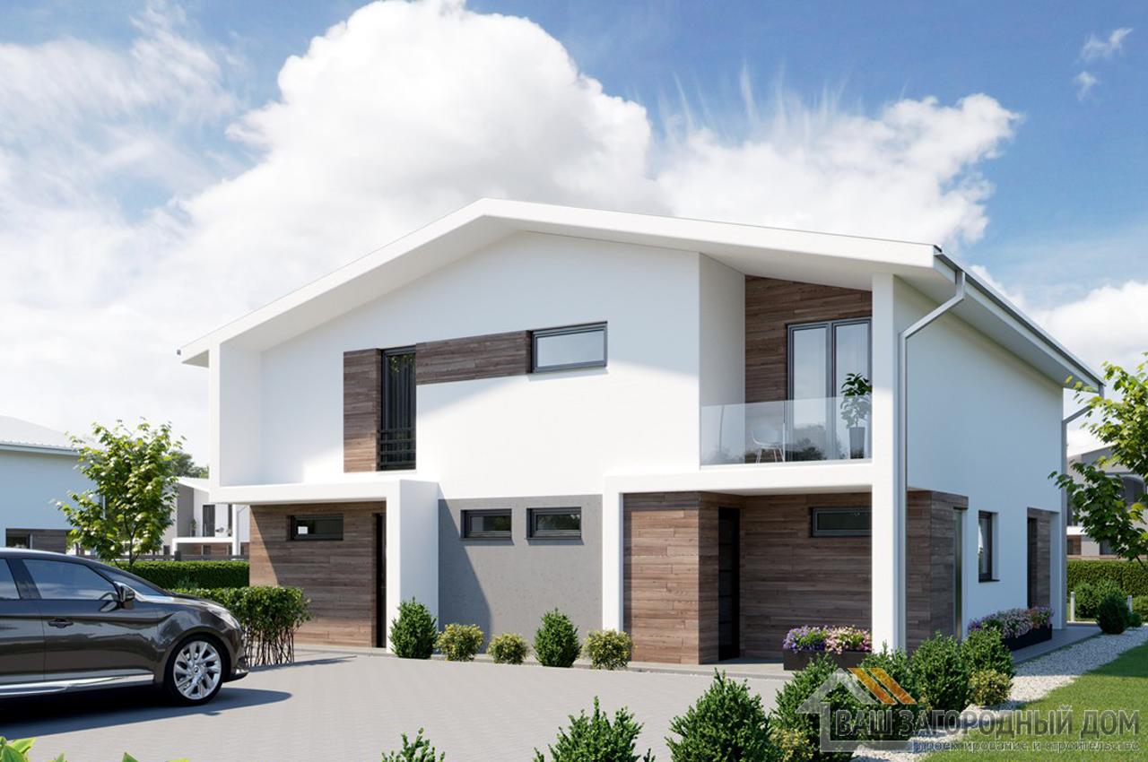 Проект двухэтажного дома 240 м2 К240800