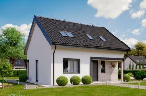 Проект одноэтажного дома 121 м2 К212190