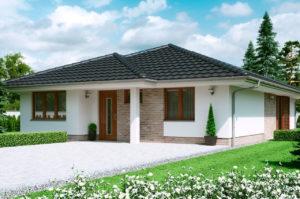 Проект одноэтажного дома 127 м2 К112795