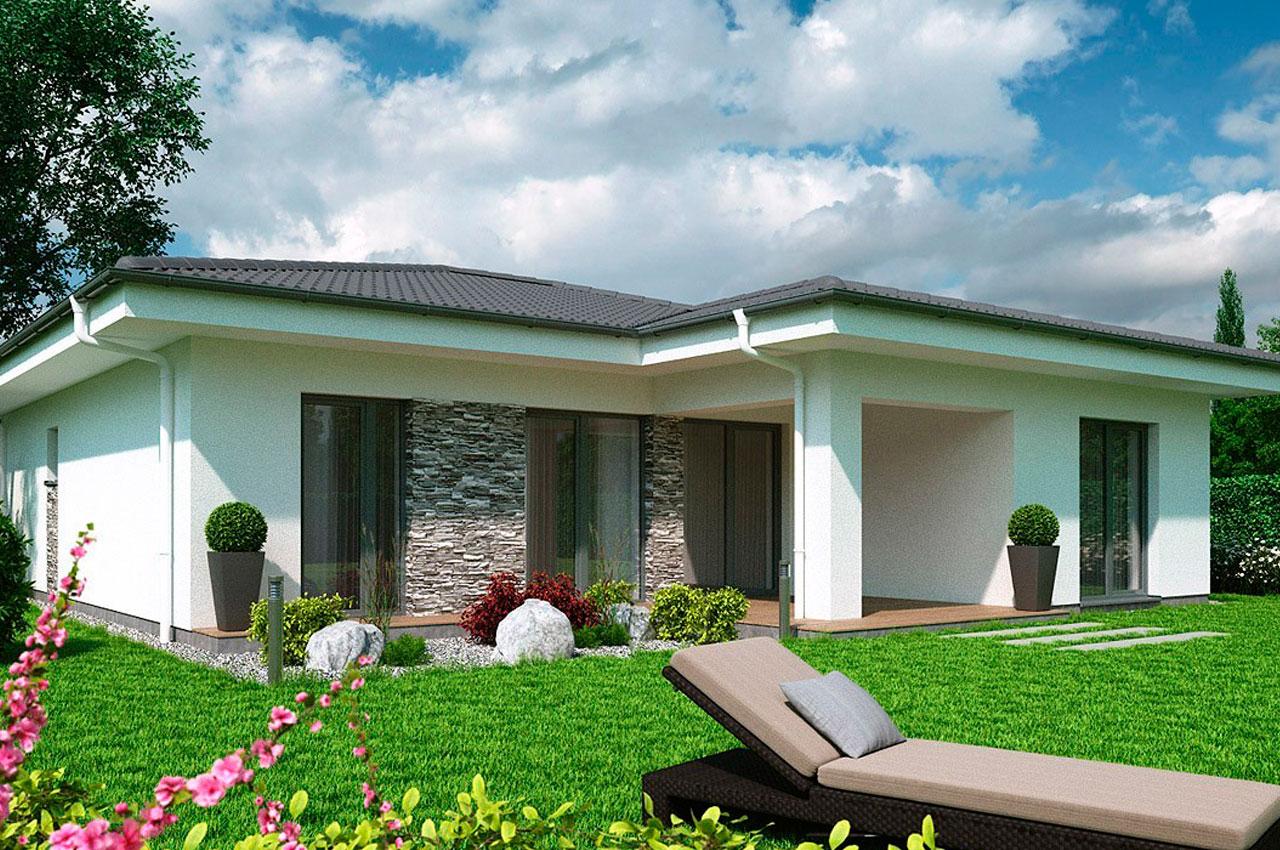 Проект одноэтажного дома 116 м2 К111687