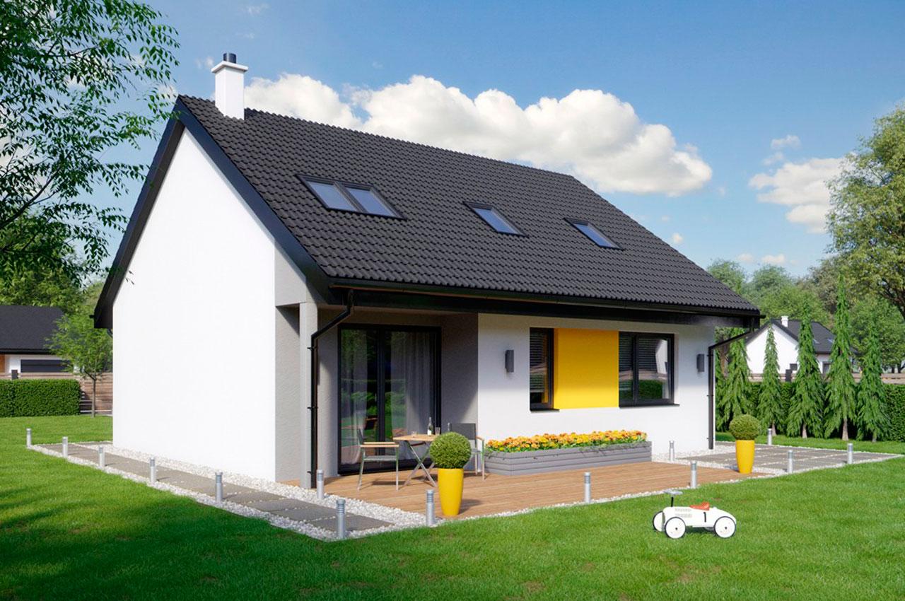 Проект одноэтажного дома 116 м2 К1687