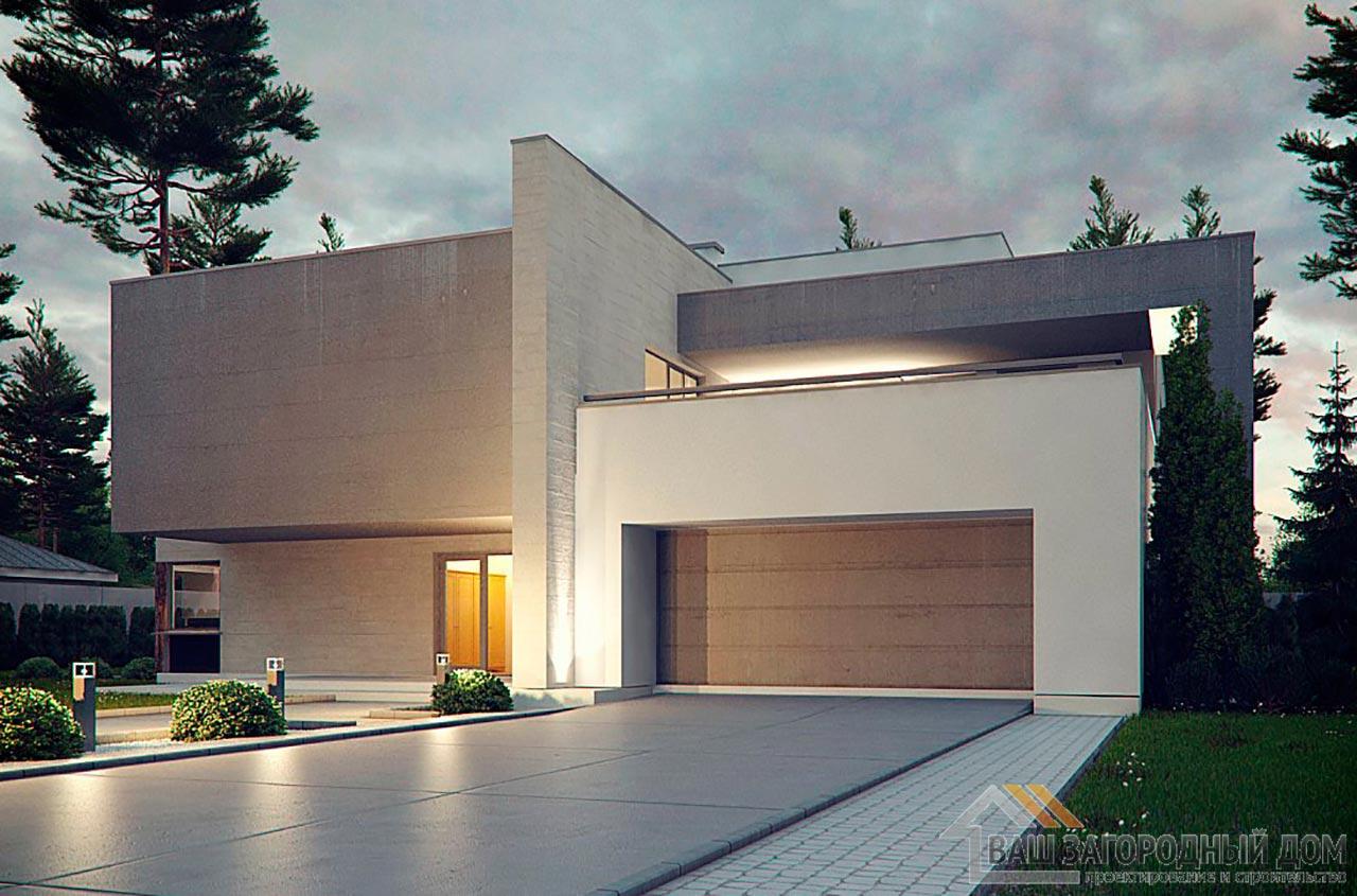 Эксклюзивный проект двухэтажного дома площадью 312м2, К-231223 вид 4