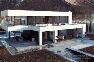 Проект просторного двухэтажного дома площадью 320м2, К-232024