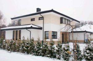 Строительство двухэтажного дома, площадью 278 м2 составило 6 месяцев