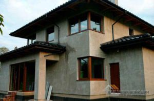 Строительство двухэтажного дома, площадью 181 м2 заняло всего 4.5 месяцев