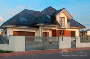 Строительство одноэтажного дома 298 м2 с гаражом составило 5 месяцев