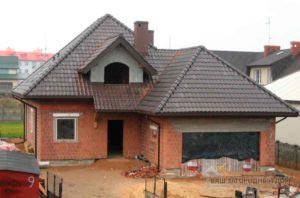 Строительство одноэтажного дома, площадью 189 м2 с мансардой всего за 3 месяца