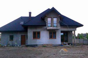 Строительство одноэтажного дома, площадью 205 м2 с мансардой за 6 месяцев