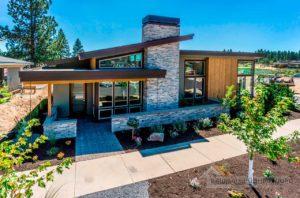 Нестандартный проект одноэтажного дома общей площадью 528 м2, К-252839
