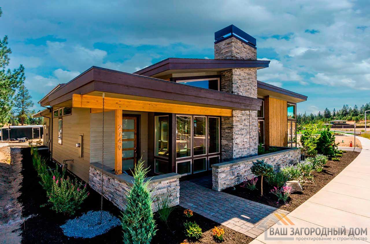 Нестандартный проект одноэтажного дома общей площадью 528 м2, К-252839 вид 2