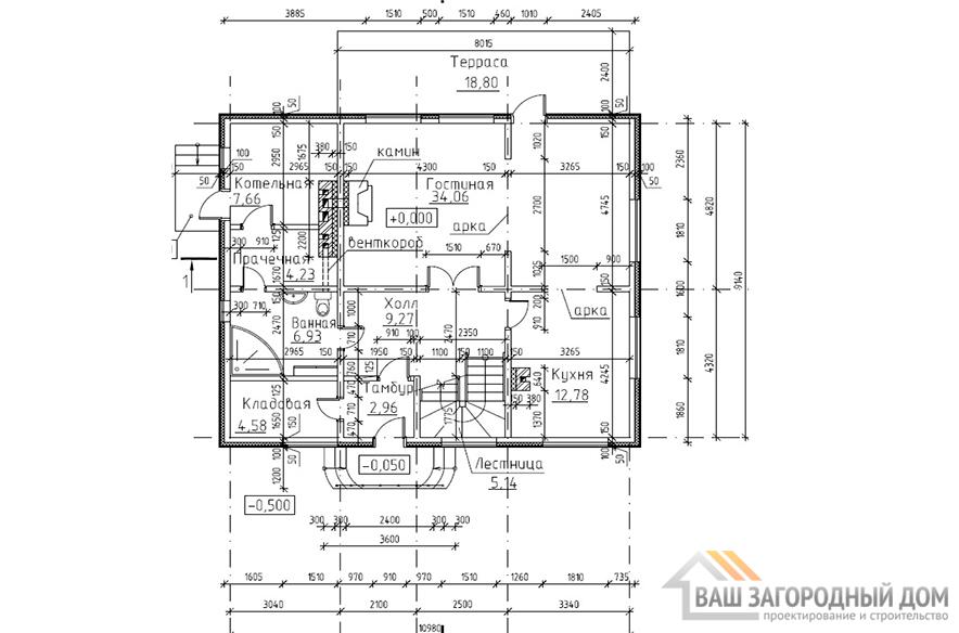К-0018, план 1