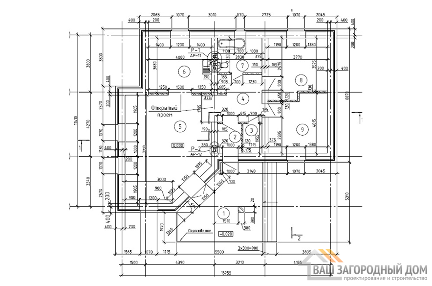 К-0068, план 1