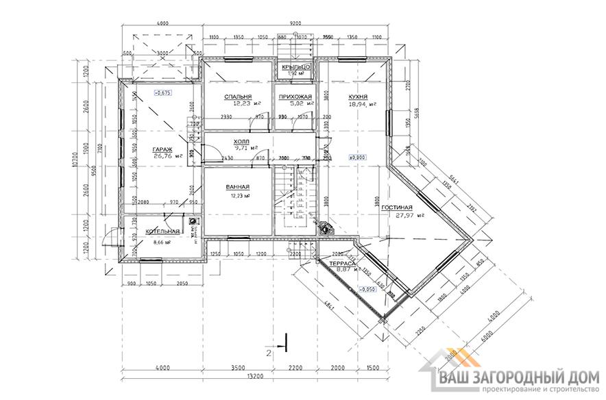 К-0014, план 1