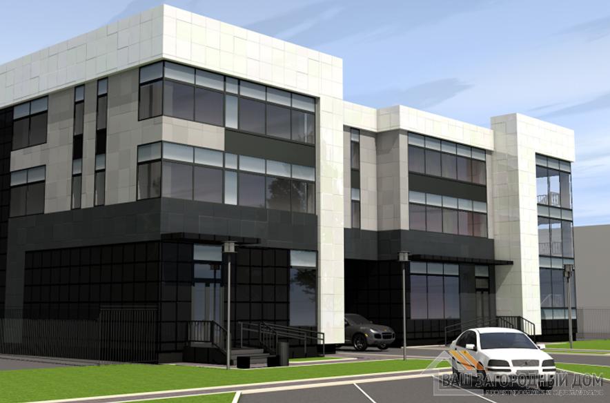 Проект торгового центра, общей площадью 1182 м2, К-0287