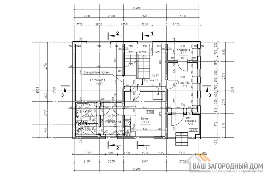 К-0042, план 1