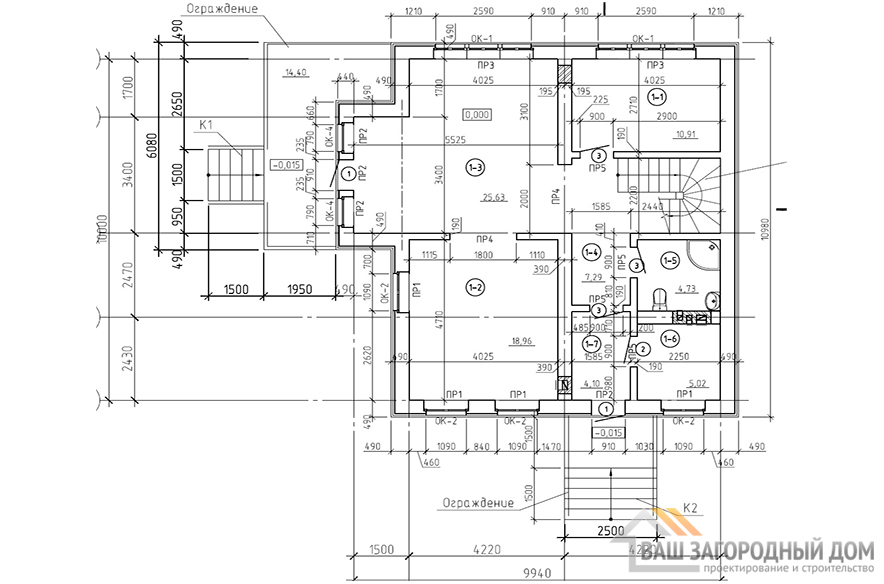 К-0069, план 1