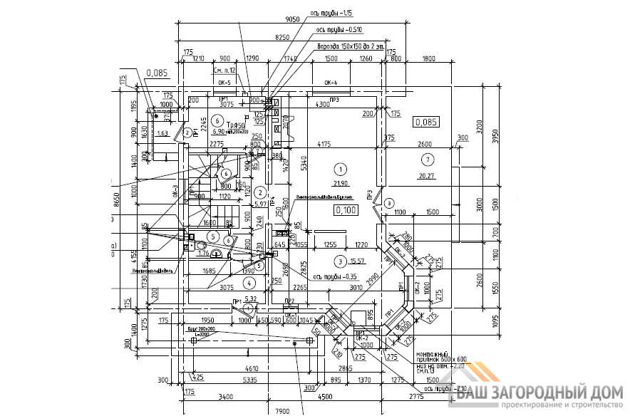 К-0082, план 1