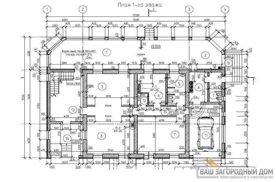К-0074, план 1