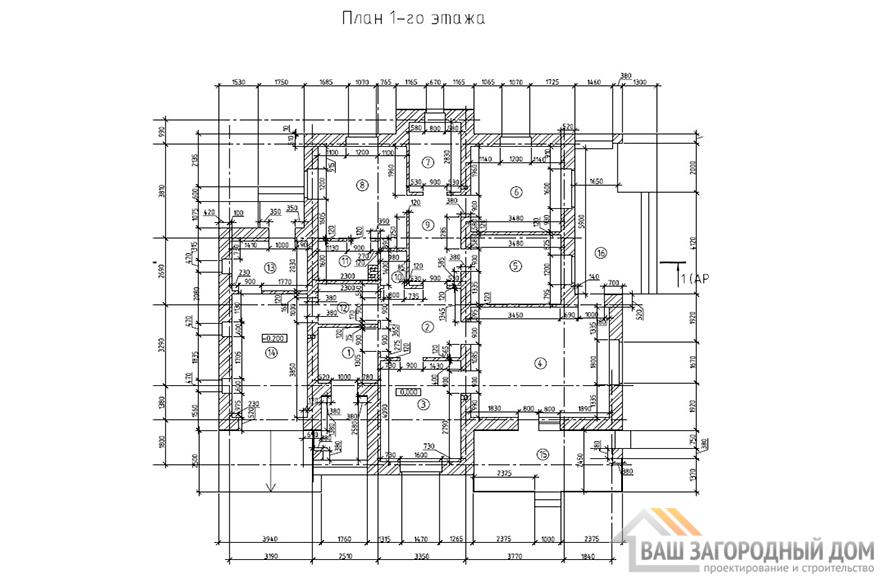 К -0080, план 1