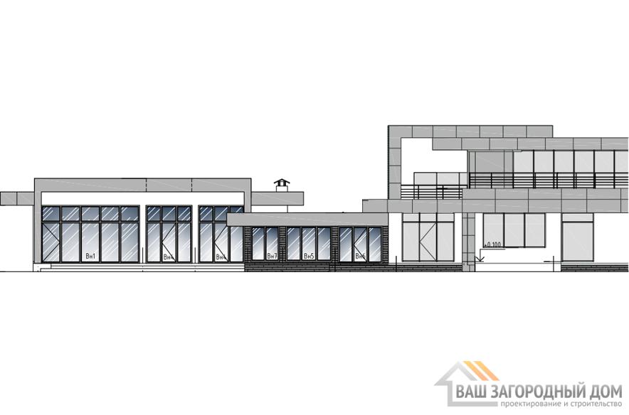 Проект СПА комплекса, общей площадью 369 м2, К-0344