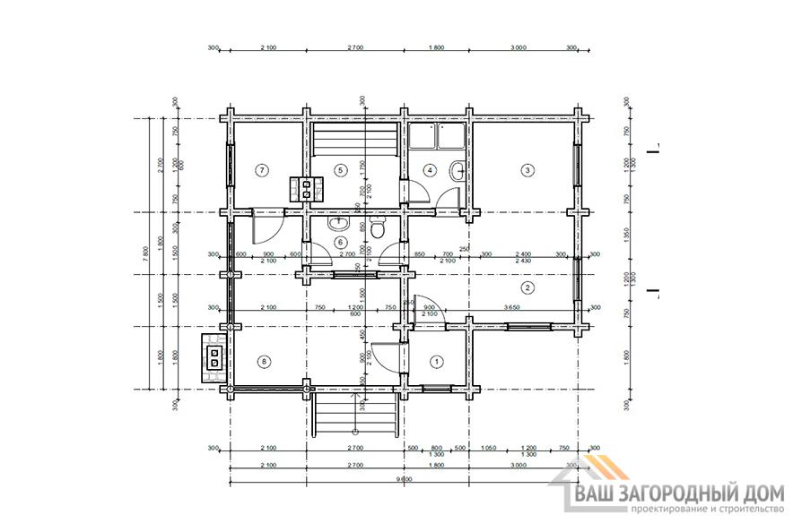 К-0095, план 1