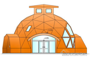 Неординарный проект дома в 2 этажа, 127 м2, К-0085