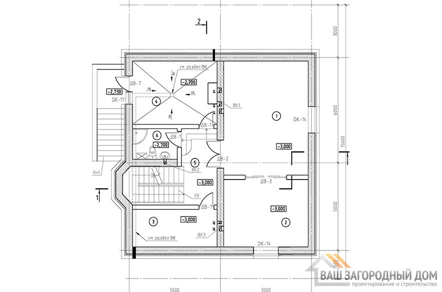 К-0120, план 1