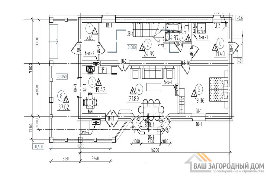 К-0125, план 1