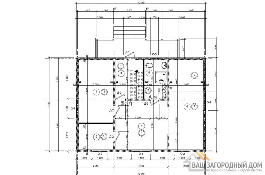 К-0134, план 1