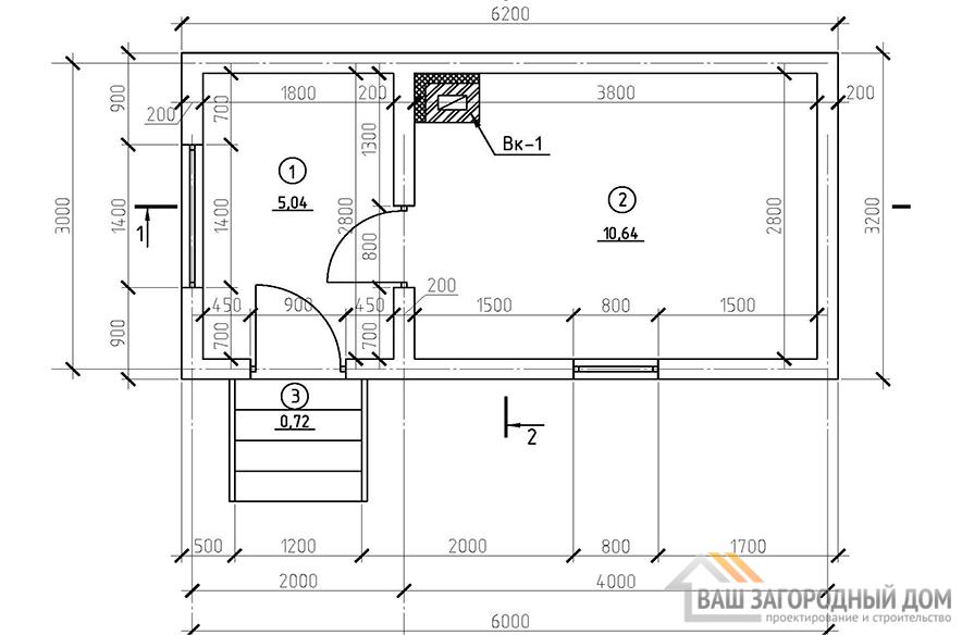 К-0106, план 1