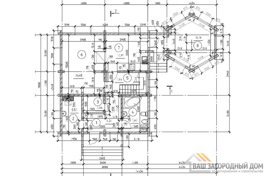 К-0425, план 1