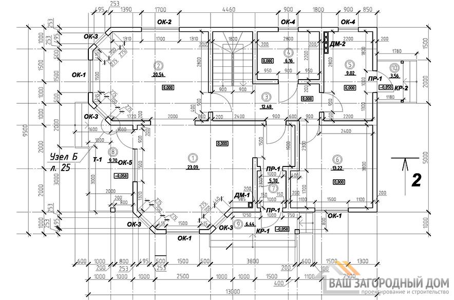 К-0108, план 1