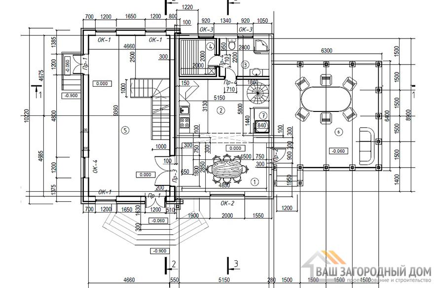 К-0434, план 1